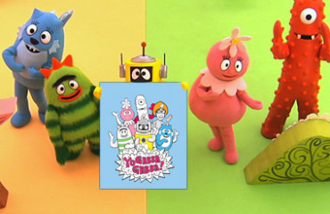 Yo Gabba Gabba Gabba Friends - Coloring Sheet! Image