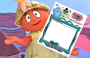 Yo Gabba Gabba Thanksgiving - Activity Sheet! Image